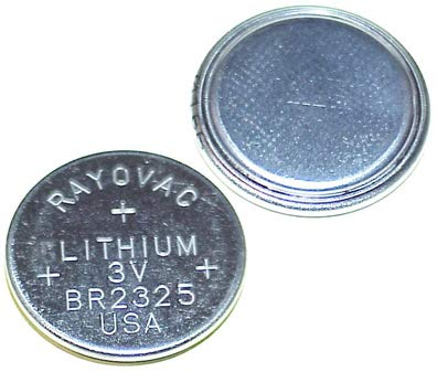 .NEC. Rayovac 3V Lithium Coin Battery - Lithium Nec Battery