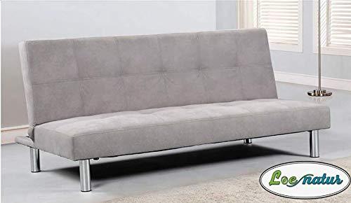 LoeNatur Sofa Cama Compacto (Gris): Amazon.es: Hogar