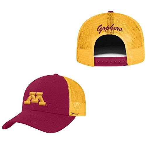 Top of the World Minnesota Golden Gophers Adult NCAA Team Spirit Structured Fit Meshback Hat - Team Color,