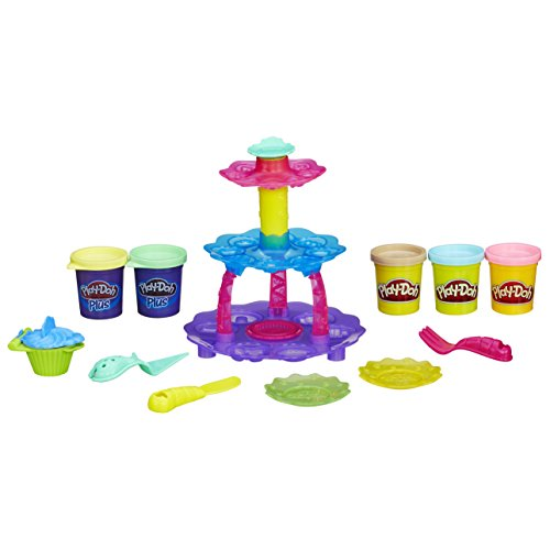 play dough cupcake tower - 4
