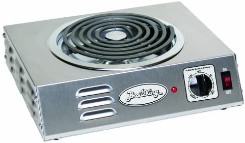 Broil King CSR-3TB Professional Single Hot Plate, Hi Power, 14-Inch by 4-1 8-Inch by 12-1 4-Inch, Grey