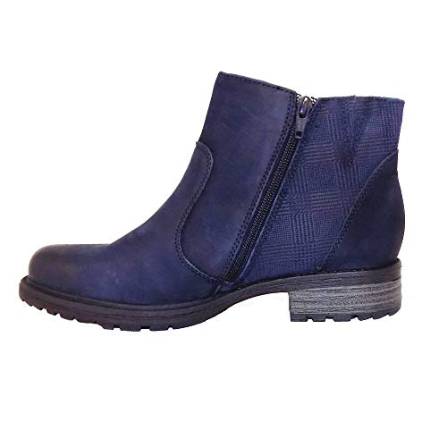 Earth Full Zip Womens Ankle Jordan Boots Vintage Navy rrqTnvH4Fw