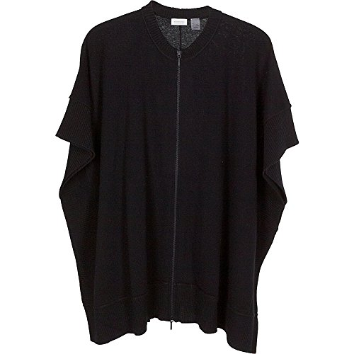 kinross-cashmere-zip-front-poncho-one-size-black