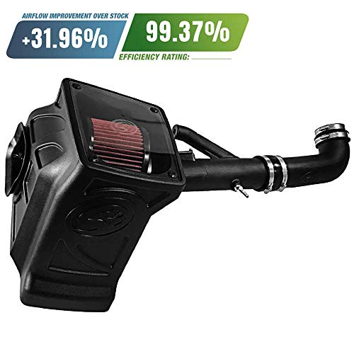 S&B Filters 75-5089 Cold Air Intake for 2017-2018 Colorado/Canyon 3.6L (Cotton Cleanable ()