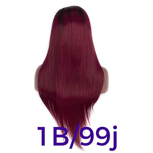 Ombre 1b/B30 13 x 4Lace FrontHair Wigs Long