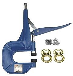 ClipsShop CSHAP-1 #2 3/8'' Brass Grommet Pliers Kit