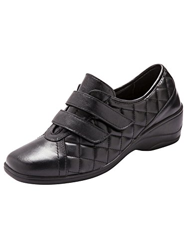 Mujer Negro De Zapatos Pediconfort Cordones vwXaz