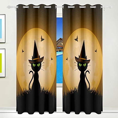 XiangHeFu Morden Blackout Curtains with Grommet Top Magic