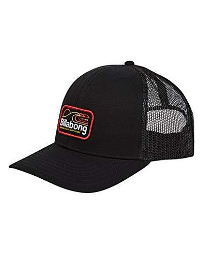 Billabong Men's Walled Trucker Hat Black One Size from Billabong