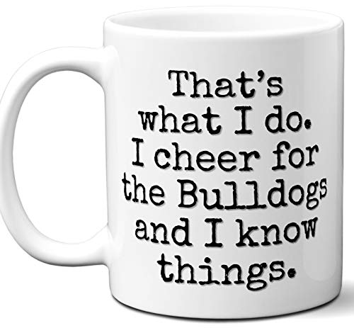 (Bulldogs Gifts For Men Women. Cool Unique Funny Gift Idea Bulldogs Coffee Mug For Fans Sports Lovers. Football Hockey Birthday Father's Day Christmas.)