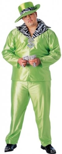 Big Daddy Costume - Plus Size - Chest Size 50-54 -