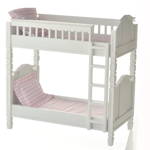 Laurent Doll Bunk Bed White product image