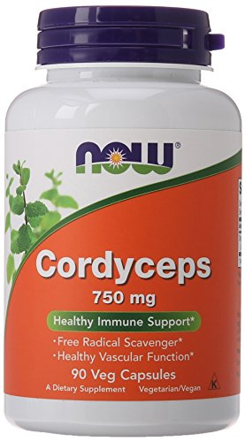 NOW Cordyceps 750 Veg Capsules