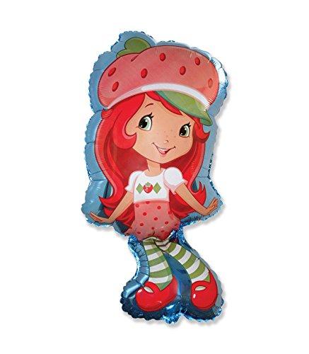 Strawberry Shortcake Birthday (1 x Strawberry Shortcake Foil Balloon Shape 37