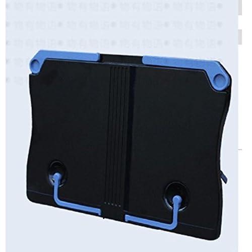 DFHHG® Étagère de lecture portable Étagère de lecture 267 * 195mm Noir Blanc durable ( Couleur : Noir )