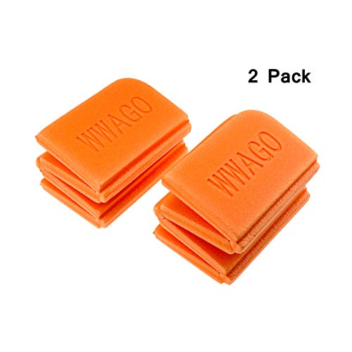 Heth 2 Pack XPE Foam Cushion Seat Pads,Folding Waterproof Portable Sitting Mat for Outdoor Sport Camping Picnic (Orange) Review
