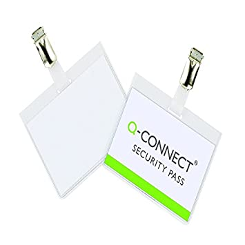Q-Connect KF01562 Security Badge 60x90mm Pack of 25 KF01562