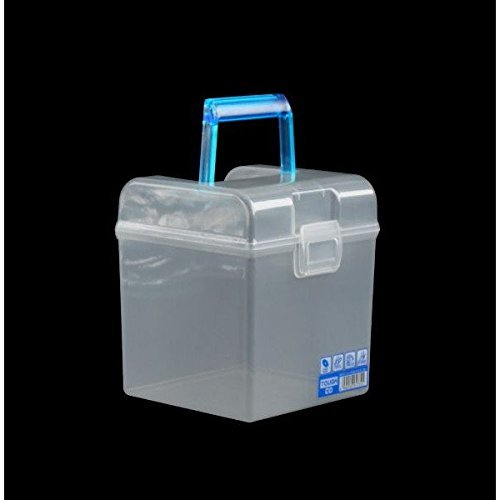 (Office Organizer - Storage Container - Organizer - Storage Box - CD Case (Blue 5