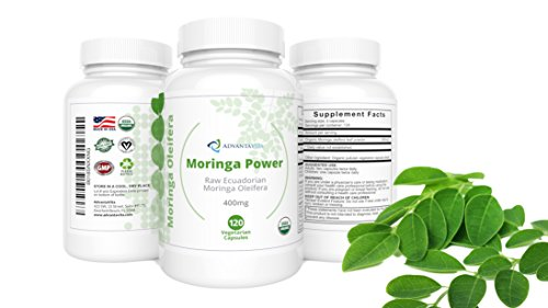 photo Wallpaper of AdvantaVita-Premium Organic Moringa Oleifera 100% Pure USDA Certified   Raw Ecuadorian Leaf-