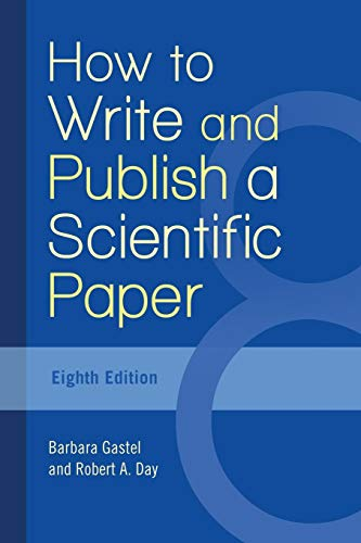 Pdf Reference How to Write and Publish a Scientific Paper