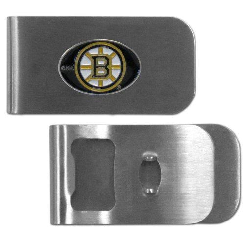 NHL Boston Bruins Bottle Opener Money Clip Boston Bruins Money Clip