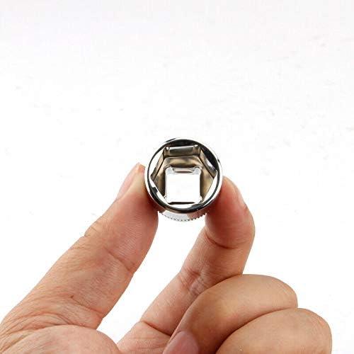 3//8 SENRISE per riparazioni domestiche e automobilistiche Set di chiavi a bussola 12 punti 10 pezzi