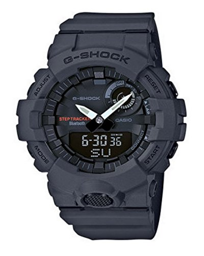 Casio GBA800-8A G-Shock Men's Watch Grey 48.6mm Resin