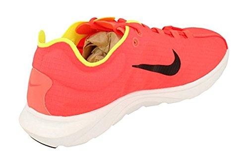 Nike Mens Dagslända Lite Se Ankel-hög Löparsko Ljusa Crimson Svart Volt