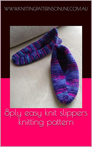 Read 8ply easy knit slippers knitting pattern - Shannon ...
