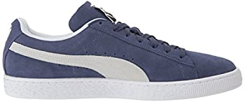 Puma Suede Classic Sneaker, Blue Indigo White, 9.5 M Us 6