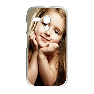 Cute Girl Motorola G Cell Phone Case White Phone cover U8496877