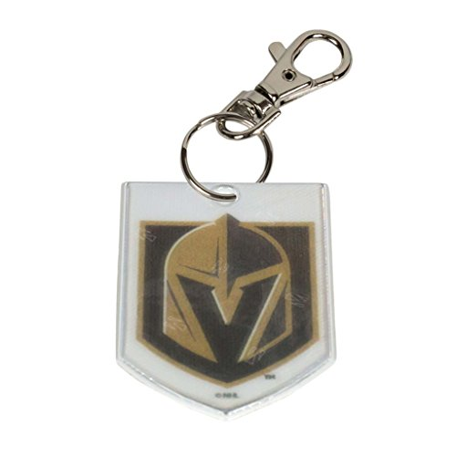 Finnex Reflectors Official NHL Vegas Golden Knights Custom Clip-on Reflector | High Visibility Reflector Provides Night Time Safety for Running, Cycling or Walking