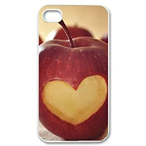 Vety Heart on Apple IPhone 4/4s Cases, {White}