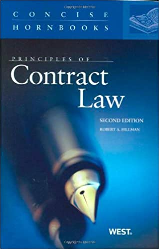 Principles of contract law robert hillman 9780314911629 amazon principles of contract law 2nd edition fandeluxe Image collections