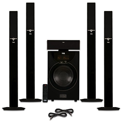 Acoustic Audio AAT2003 Tower 5.1 Home Theater Blue...