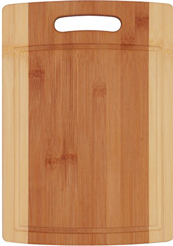 Utopia Kitchen Natural Bamboo Cutting Boards for Kitchen with Juice Groove Wooden Cutting Board Set of 3 - Chopping Boards for Vegetable, Fruits, Meat and Cheese by Utopia Kitchen (Image #2)