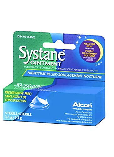 Systane Nighttime Lubricant Eye Ointment 3.50 g (Pack of 10) by Systane