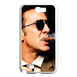 Nicolas Cage Samsung Galaxy N2 7100 Cell Phone Case White