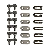 HURI 6set Chain Master Link for Motorized Bicycle Bike 49cc 66cc 80cc 2 Stroke Engine #415