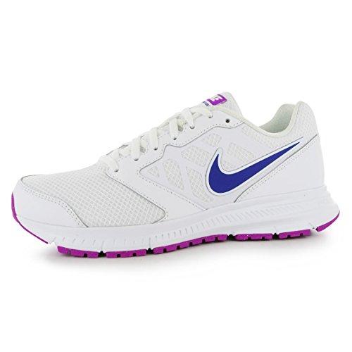NIKE DOWNSHIFTER 6Chaussures de Course à Pied Femme Blanc/Violet Fitness Formateurs Sneakers