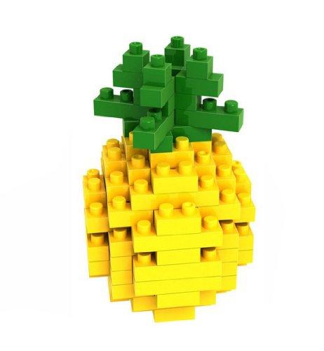 Arctic Star Pineapple Fruit Series of Small Building Blocks