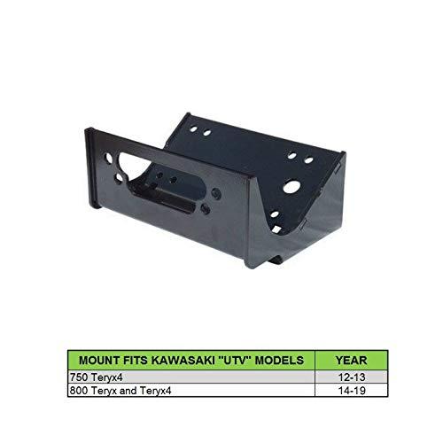 XTREME Winch 4500LB UTV Winch With Model Specifc Mount Fits KAWASAKI 2014-19 TERYX 800 TERYX4 800