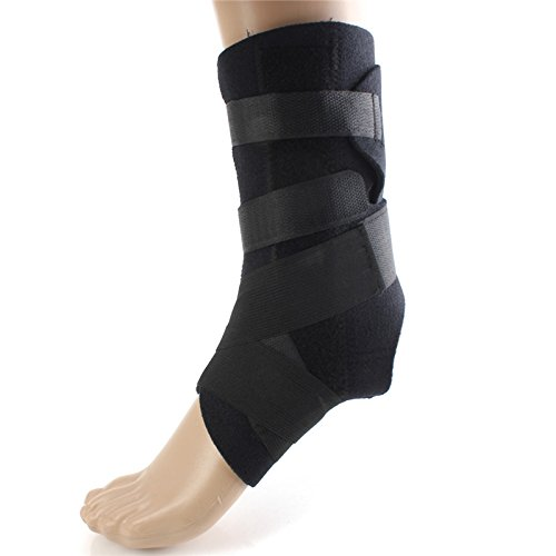 le braces Foot Sleeve Men Women Ankle Bandage Support Protector Football Basketball Volleyball Sanda Boxing GYM Sport Feet Brace 1 Protector Football Basketball Volleyball Sanda (Custom Boxing Photo Charm)