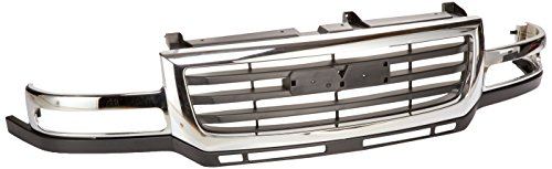 OE Replacement GMC Sierra Pickup Grille Assembly (Partslink Number GM1200568)