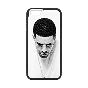 Drake Black And White iPhone 6 Plus 5.5 Inch Cell Phone Case Black phone component RT_330419