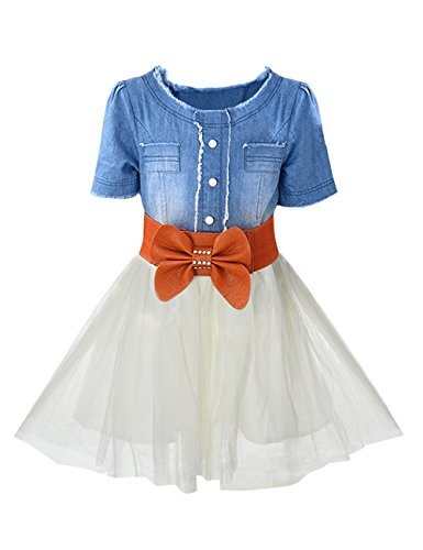Blue Denim Dress - 9