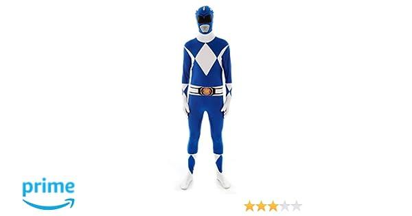 Morphsuits - Disfraz para adulto con diseño Azul Power Ranger ...