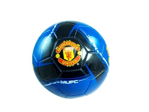 MANCHESTER UNITED FOOTBALL CLUB OFFICIAL LOGO FULL SIZE SOCCER BALL ()