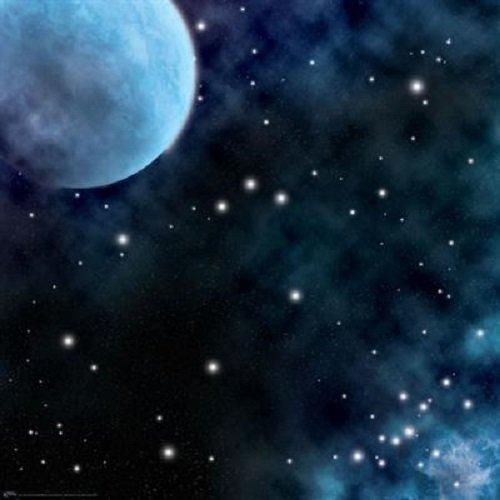 Tapete de juego Frozen Planet Space, 36 x 36