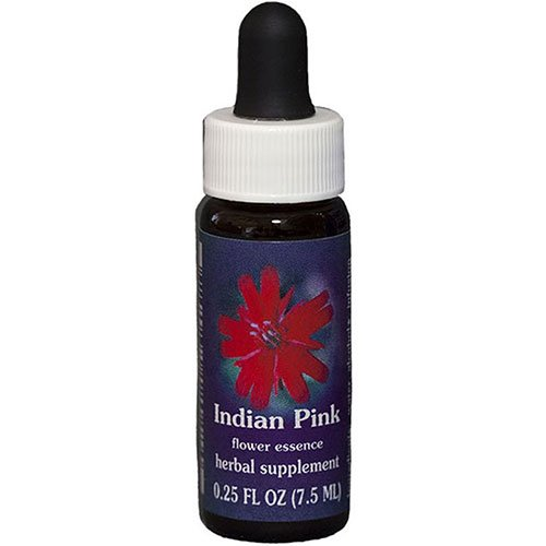 Flower Essence Services Supplement Dropper, Indian Pink, 0.25 Ounce ()